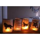 Lichtbeutel mit Hunderasse oder Wunschmotiv