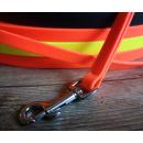 PVC Hundeleine 10 / 13mm | Schleppleine | 3 Farben | Beliebige Länge | stark vernäht