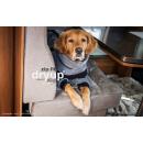 Hundebademantel mit Beinen Dryup Body Zip.Fit GRAU