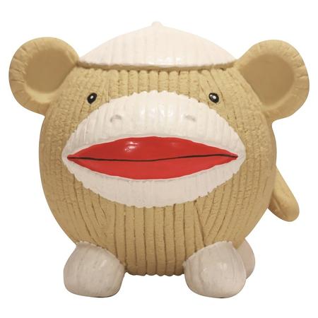 Hugglehounds Ruff-Tex Sock Monkey Affe