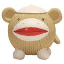 Hugglehounds Ruff-Tex Sock Monkey Affe...