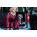 Hundebademantel mit Beinen Dryup Body Zip.Fit bordeaux