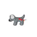Rindsleder Doodle Hund grau