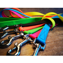 Hundeleine Soft PVC 20mm 1,20m oder 1,40m