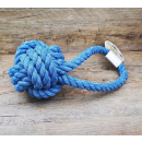 Nuts for Knots Ball mit Schlaufe 40x18x15cm