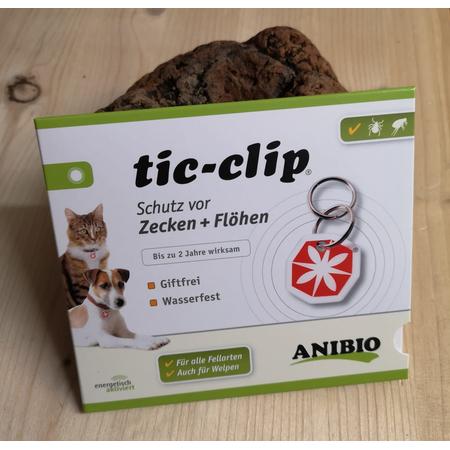 Anibio tic - clip Anhänger f. Hunde & Katzen