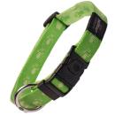 Halsband Rogz Alpinist Gr.  M 26 - 40 cm Lime