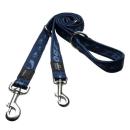 Rogz Hundeleine Alpinist  M 180cm x 15 mm Marineblau