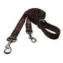Rogz Hundeleine Alpinist  XL 180 cm x 25mm Mocca