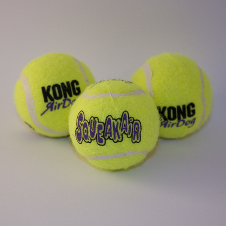 AirDog Kong Squeakair Tennisbälle 2 Stck. 8,5 cm