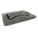 Dirty Dog Doormat grau