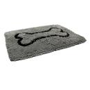 Dirty Dog Doormat grau  L (90 x 66 cm)