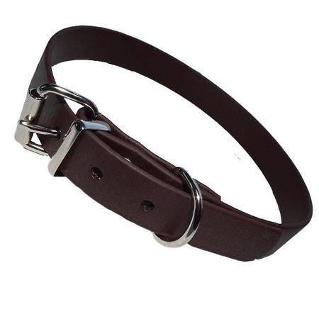 Biothane Halsband braun