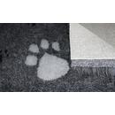 Original ®  Drybed grau meliert Pfoten, rutschfest 150 x 100cm