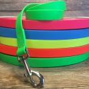 PVC Hundeleine 20mm | Schleppleine | 8 Farben | Beliebige...
